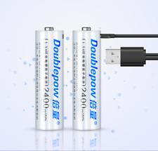 1pc Ultra AA USB direkt Wiederaufladbare Lithium Akku 2400mah 1.5v vorgeladen