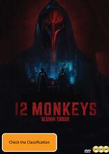 12 Monkeys - Season 3 DVD [New/Sealed]