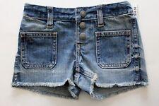 Ralph Lauren Girls Jean Shorts Denim Blue Size 8 NWT