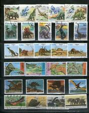 6 DIFF. SETS OF PRE-HISTORIC ANIMALS,COMMEMO.,FU, # 32