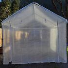 5pc 14 mil Heavy Duty Greenhouse Canopy Kit CLEAR Fiber Reinforced(Choose Size)