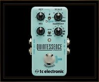 New! TC Electronic Quintessence Harmonizer Guitar Effects Pedal