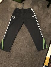 USED - Seattle Sounders Adidas Pants Gray (w/ pockets!) - SIZE XL
