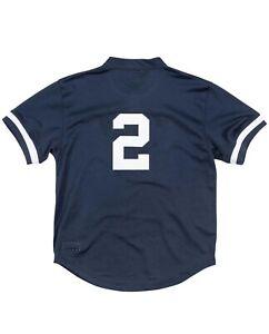 Mitchell & Ness NY Yankees 1995 Derek Jeter Authentic Batting Practice BP JERSEY