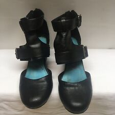 Blowfish Size 8  Wedge Ankle Boot with buckle strap