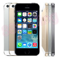 SIM FREE UNLOCKED APPLE iPhone5S SMARTPHONE MOBILE iOS GOOD WORKING CONDITION UK