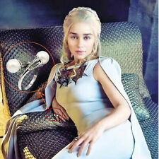 Women Jewelry Pearl Ring Game of Thrones Ring Daenerys Targaryen Simulated Ring