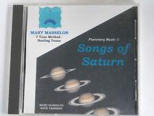 Mary Masselos - Songs of Saturn - Healing Tones CD