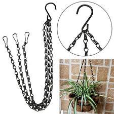 50cm 3 Strand Basket Hanging Chain Hook Iron Plant/Pot/Flower Holder