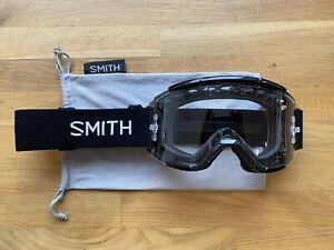 Smith Squad MTB Goggles Black Clear Lens Enduro Mountain Bike E-Bike Trail DH