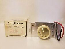 Carlon Thyrocon RDF3 RDF-3 Ceiling Fan Speed Control 120VAC 60Hz