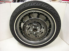 Harley Touring 9 Spoke 16X3 OEM Front Wagon Wheel Mag Rim Tire & Rotor FLT FLHT