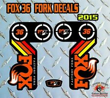 FOX 36 2015 FORK Adesivi Decalcomanie Grafiche MOUNTAIN BIKE DOWN HILL MTB