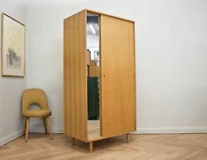 DELIVERY £80 Mid Century Oak Wardrobe from Stag