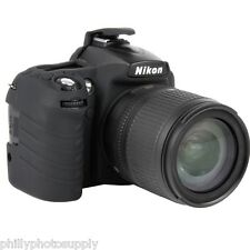 easyCover Armor Protective Skin for Nikon D90 (Black) ->Bump Protection!