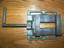Vintage Drill Press Milling Machine 4 14 Vise Jaws Opening To 3 38