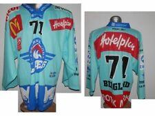 RARE SCRJ Rapperswil Jona Lakers Berglund #71 Swiss Ice Hockey shirt Eishockey L