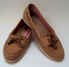 Sperry Top Sider Boat Womens Shoes Beige Tan Size 7.5 M