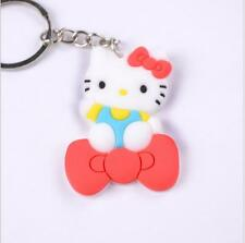 1pcs Fashion silicone keychain Rubber key chain gift