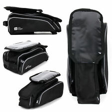 Bike Front Frame Saddle Bag W/ Pouch for HTC Desire 526 / 626 / 626s