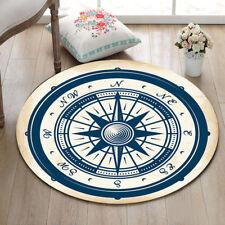 "Vintage Nautical Compass Bathroom Rug Kitchen Floor Yoga Bath Mat Carpet 23.5"""