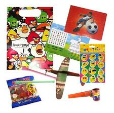 Pre Filled Angry Birds Boys Party Bags Ready Made Goodie Bags Loot Toys Favours