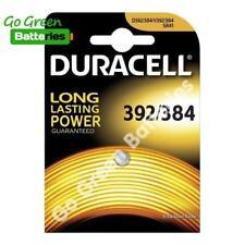 1 x Duracell 392 384 1.5V Silver Oxide watch battery SR41 D384 / 392 SR41W V392
