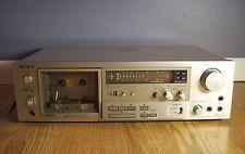 SONY TC-K71 3 head Stereo Cassette Deck Works Great