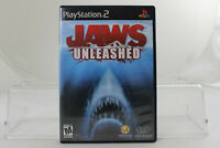 Playstation 2 PS2 Game Jaws Unleashed CIB Complete In Box Black Label