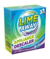 Kettle, Iron, Coffee Machine Descaler 3 Pack - Lime Away Appliance Limescale