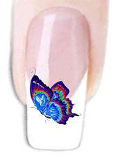 Schmetterling -12, Wraps Nail Art Tattoo Sticker Decal Fingernägel Aufkleber Fuß
