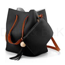BLACK Bags Purse Shoulder Handbag Tote Messenger Hobo Satchel Bag Cross Body US