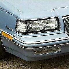 Buick Skylark: 1989, 1990, 1991, Right Side Marker Signal Light Lens