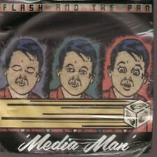 """FLASH AND THE PAN Media Man 7"""" VINYL UK Ensign Promo Single Issued To Retailers"""