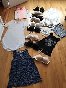 Victorias Secret Bra Lot Of 17Push Up, Bralette, Size 34B C Clothes Max Jean Gap