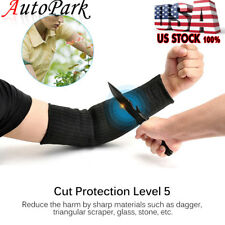 1 Pair Steel Wire Tactical Cut Proof Armband Protective Sleeve Arm Guard Bracers