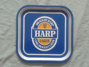 HARP LAGER ADVERTISING  PUB BEER TRAY