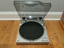 JVC L-E3 Fully Automatic Direct Drive Linear Tracking Turntable Working!!