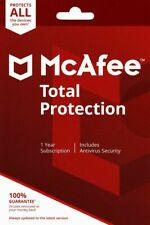 McAfee Total Protection 10 Multi-devices /1 Year Windows Mac Phones Tabs 2020
