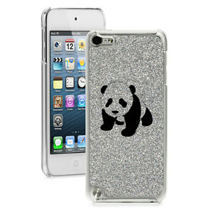For Apple iPod Touch 4th 5th 6th Glitter Bling Hard Case Cover Baby Panda