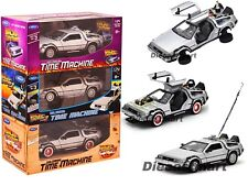 Welly 1 24 Delorean Time Machine Back to The Future Part 2 Flying 22499