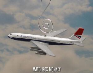 British Airways Boeing 707 Christmas Ornament Airplane Plane Jet Aircraft