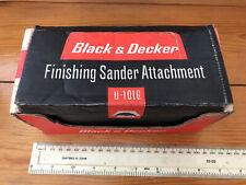 Vintage pre-owned Black & Decker Finishing Sander attachment, U1016