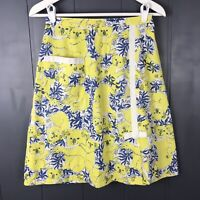 a95986154 Vintage The Lilly Skirt Lilly Pulitzer Koala Print Yellow Blue White 27