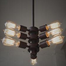 Unique Industrial LOFT IRON Ceiling Pendant Light Chandelier Vintage Lamp Room