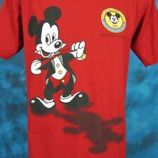 NOS vtg 90s MICKEY MOUSE WALT DISNEY WORLD DISNEYANA CONVENTION T-Shirt cartoon