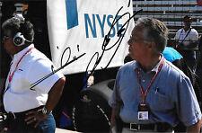 Mario Andretti & Aldo Andretti SIGNÉ Indianapolis Portrait 2007