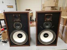 Rare Vintage EGO Model 12.3 Speakers