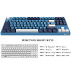 AKKO 3087 SP Ocean Star Mechanical Gaming Keyboard∣Cherry MX Red∣87-Key∣Blue