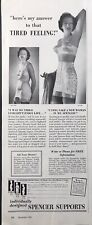 """1950 Spencer Body Breast Supports Sexy Woman Bra/girdle PRINT AD 5"""" x 13"""" WHC 98"""